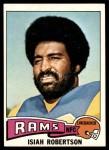 1975 Topps #371  Isiah Robertson  Front Thumbnail