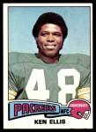 1975 Topps #389  Ken Ellis  Front Thumbnail