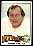 1975 Topps #108  Norm Bulaich  Front Thumbnail