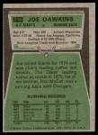 1975 Topps #116  Joe Dawkins  Back Thumbnail