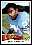 1975 Topps #119  Levi Johnson  Front Thumbnail