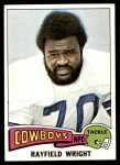 1975 Topps #402  Rayfield Wright  Front Thumbnail