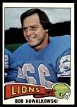 1975 Topps #304  Bob Kowalkowski  Front Thumbnail