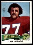 1975 Topps #322  Lyle Alzado  Front Thumbnail