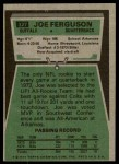 1975 Topps #327  Joe Ferguson  Back Thumbnail