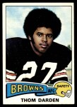 1975 Topps #342  Thom Darden  Front Thumbnail