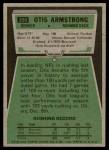 1975 Topps #350  Otis Armstrong  Back Thumbnail