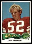 1975 Topps #363  Skip Vanderbundt  Front Thumbnail
