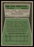 1975 Topps #371  Isiah Robertson  Back Thumbnail