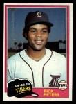 1981 Topps #177  Rick Peters  Front Thumbnail