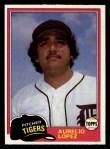1981 Topps #291  Aurelio Lopez  Front Thumbnail