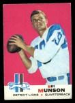 1969 Topps #11  Bill Munson  Front Thumbnail