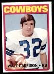 1972 Topps #301  Walt Garrison  Front Thumbnail