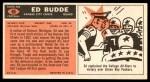 1965 Topps #95  Ed Budde  Back Thumbnail