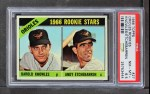 1966 Topps #27   -  Andy Etchebarren / Darold Knowles Orioles Rookies Front Thumbnail