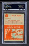 1963 Topps #10  Bill Pellington  Back Thumbnail