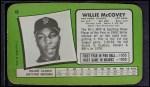 1971 Topps Super #46  Willie McCovey  Back Thumbnail