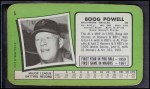 1971 Topps Super #5  Boog Powell  Back Thumbnail
