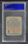 1949 Bowman Pacific Coast League #5  Xavier Rescigno  Back Thumbnail