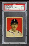 1949 Bowman Pacific Coast League #3  Ralph Hodgin  Front Thumbnail