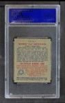 1949 Bowman Pacific Coast League #2  George Metkovich  Back Thumbnail