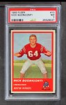 1963 Fleer #10  Nick Buoniconti  Front Thumbnail