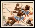 1950 Topps Bring Em Back Alive #16   Jungle War Front Thumbnail