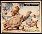 1950 Topps Bring Em Back Alive #34   Turtle Monster Front Thumbnail