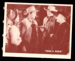 1950 Topps Hopalong Cassidy #152   Forced accomplice Front Thumbnail
