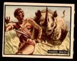 1950 Topps Bring Em Back Alive #52   Sudden Death Front Thumbnail