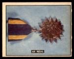 1950 Topps Freedoms War #194   Air Medal  Front Thumbnail