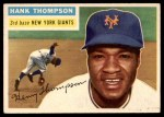 1956 Topps #199  Hank Thompson  Front Thumbnail