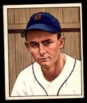 1950 Bowman #210 CPR Ted Gray  Front Thumbnail