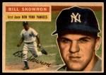 1956 Topps #61  Bill Skowron  Front Thumbnail