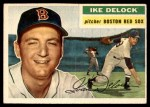 1956 Topps #284  Ike Delock  Front Thumbnail