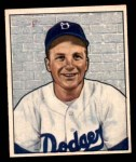 1950 Bowman #222  Bob Morgan  Front Thumbnail