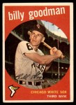 1959 Topps #103  Billy Goodman  Front Thumbnail