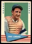 1961 Fleer #55  Ernie Lombardi  Front Thumbnail