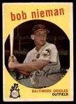 1959 Topps #375  Bob Nieman  Front Thumbnail