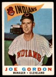 1960 Topps #216  Joe Gordon  Front Thumbnail