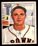 1950 Bowman #189 CPR Owen Friend  Front Thumbnail
