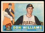 1960 Topps #414  Don Williams  Front Thumbnail