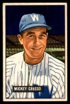 1951 Bowman #205  Mickey Grasso  Front Thumbnail