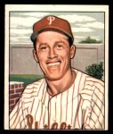 1950 Bowman #205 CPR Mike Goliat  Front Thumbnail