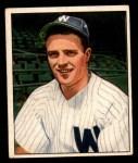1950 Bowman #162  Eddie Yost  Front Thumbnail