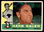 1960 Topps #262  Hank Bauer  Front Thumbnail