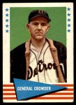 1961 Fleer #102  General Crowder  Front Thumbnail