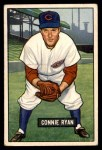 1951 Bowman #216  Connie Ryan  Front Thumbnail