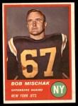 1963 Fleer #17  Bob Mischak  Front Thumbnail