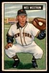1951 Bowman #161  Wes Westrum  Front Thumbnail